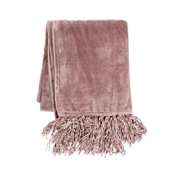 Pătură din micropluș Tiseco Home Studio,130x170cm, roz poza bonami.ro