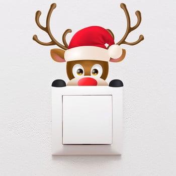 Autocolant de perete Ambiance Christmas, 10 x 13 cm bonami.ro