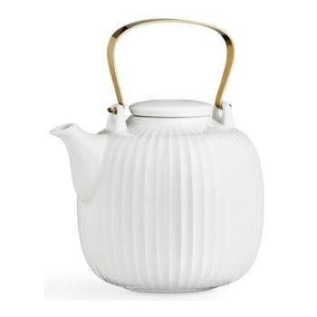 Ceainic din porțelan Kähler Design Hammershoi, 1,2 l, alb bonami.ro