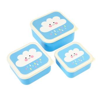 Set 3 cutii pentru gustări Rex London Happy Cloud poza bonami.ro
