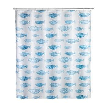 Perdea duș rezistentă la mucegai Wenko Aquamarin, 180x200cm bonami.ro