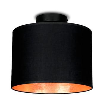 Plafonieră Sotto Luce MIKA, Ø 25 cm, negru/arămiu bonami.ro
