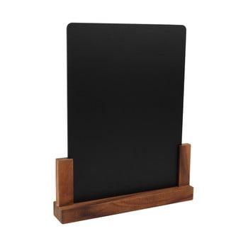 Tăbliță pentru cretă cu suport din lemn de salcâm T&G Woodware Rustic, înălțime 32 cm poza bonami.ro