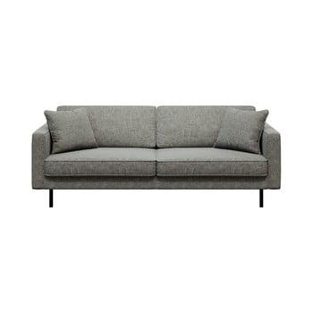 Canapea cu 3 locuri MESONICA Kobo, gri imagine