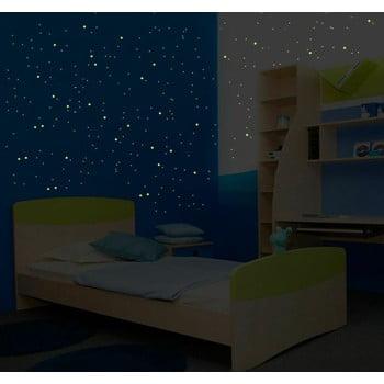 Set autocolante fosforescente de perete Ambiance Milky Way, 240 buc. bonami.ro