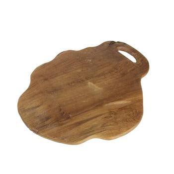 Tocător din lemn de tec HSM Collection Flate L bonami.ro