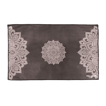 Prosop pentru yoga Yoga Design Lab Mandala, 61x38cm, negru bonami.ro