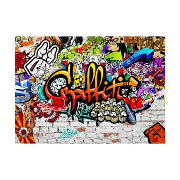 Tapet format mare Bimago Colourful Graffiti, 300 x 210 cm poza bonami.ro