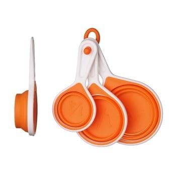 Set măsuri Zing Orange, 4 piese poza bonami.ro