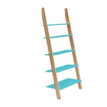 Raft în formă de scară Ragaba ASHME, lățime 85 cm, turcoaz bonami.ro