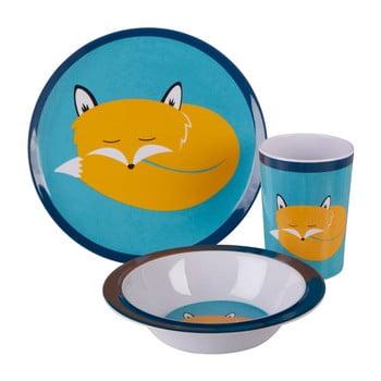 Set veselă pentru copii Premier Housewares Mimo Felix Fox, 3 piese bonami.ro