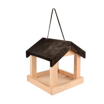 Hrănitor suspendat din lemn pentru păsări Esschert Design bonami.ro