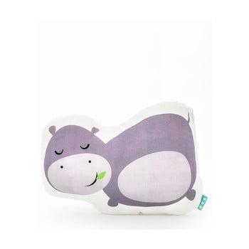 Pernă din bumbac Mr. Fox Hippo 40 x 30 cm bonami.ro