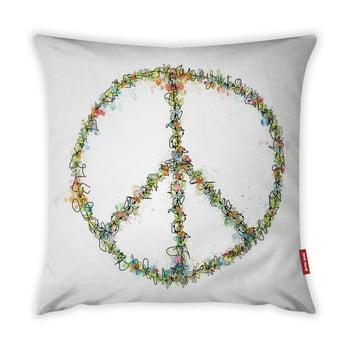 Față de pernă Vitaus Peace Sign, 43 x 43 cm bonami.ro