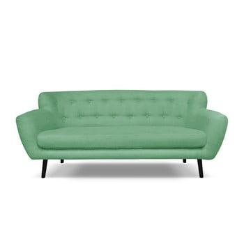 Canapea Cosmopolitan desing Hampstead, 192 cm, verde imagine