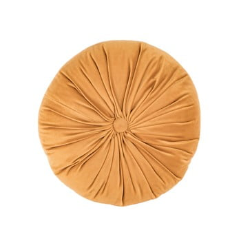 Pernă decorativă din catifea Tiseco Home Studio Velvet,ø38cm, portocaliu deschis bonami.ro
