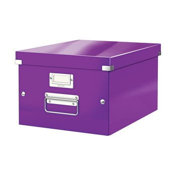 Cutie depozitare Leitz Universal, lungime 37 cm, violet bonami.ro