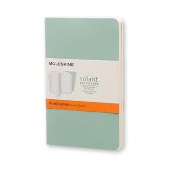 Caiet dictando Moleskine Volant, 80 pag., verde bonami.ro