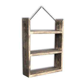 Etajeră suspendată din lemn House, 35 x 48 x 10 cm bonami.ro