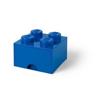 Cutie depozitare cu sertar LEGO®, albastru bonami.ro