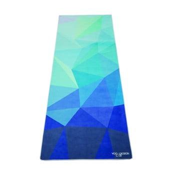 Prosop pentru yoga Yoga Design Lab Geo Blue bonami.ro