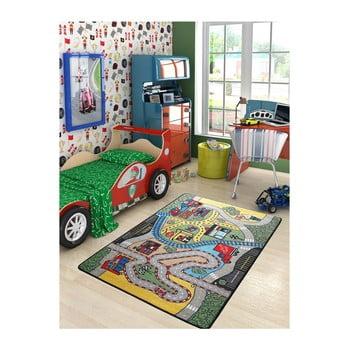 Covor pentru copii Race, 100 x 150 cm poza bonami.ro