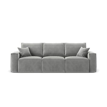 Canapea Cosmopolitan Design Florida, gri, 245 cm imagine