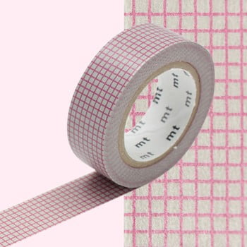 Bandă decorativă Washi MT Masking Tape Roberte, rolă 10 m bonami.ro