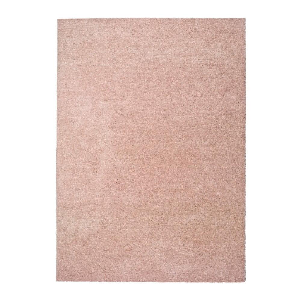 Covor Universal Shanghai Liso, 80 x 150 cm, roz deschis