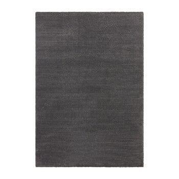 Covor Elle Decor Glow Loos, 200 x 290 cm, gri antracit imagine