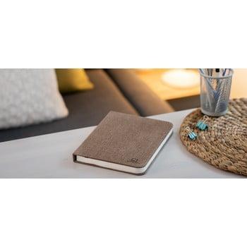 Veioză de birou cu LED Ginko Booklight Large, formă de carte, maro închis bonami.ro
