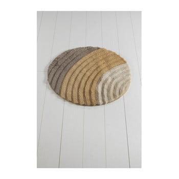 Covor de baie Well Cap, ⌀ 90 cm, maro bonami.ro