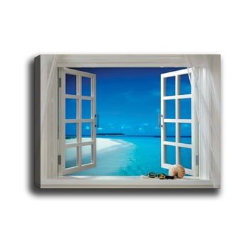 Tablou Tablo Center Open Window, 70 x 50 cm bonami.ro