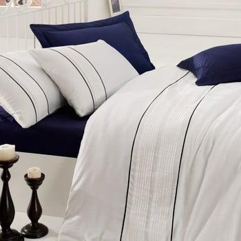 Lenjerie de pat cu cearșaf pentru pat dublu Alone, 200 x 220 cm imagine
