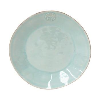 Farfurie din gresie ceramică Costa Nova Blue, ⌀ 27 cm, turcoaz poza bonami.ro