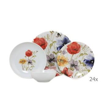 Set 24 vase din porțelan Kütahya Porselen Herbejo imagine