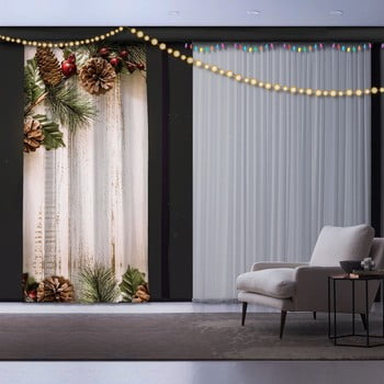 Draperie Crăciun Pine Tree, 140 x 260 cm bonami.ro