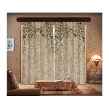 Set 2 draperii Curtain Lasta, 140 x 260 cm poza bonami.ro