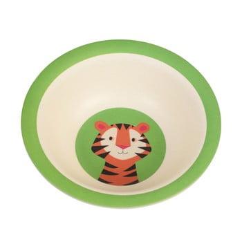 Bol din bambus pentru copii Rex London Teddy the Tiger poza bonami.ro