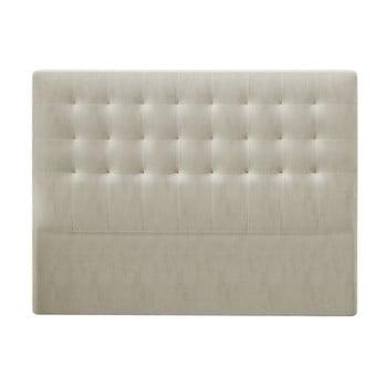 Tăblie pentru pat cu tapițerie de catifea Windsor & Co Sofas Athena, 200x120cm, bej poza bonami.ro