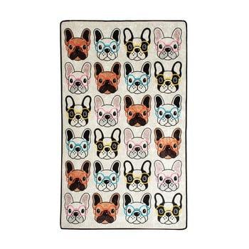 Covor copii Dogs, 100 x 160 cm bonami.ro