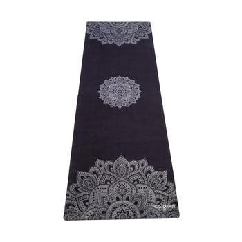 Saltea pentru yoga Yoga Design Lab Travel Mandala, 1 mm, negru bonami.ro