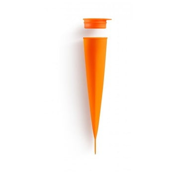 Formă din silicon pentru înghețată Lékué Pop, portocaliu poza bonami.ro