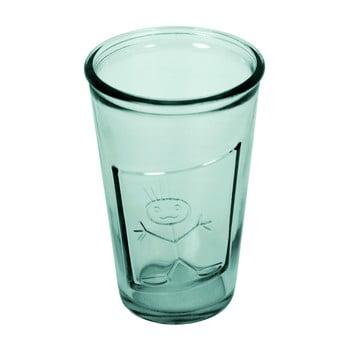 Pahar din sticlă reciclată Ego Dekor Zeus, 300 ml, albastru poza bonami.ro