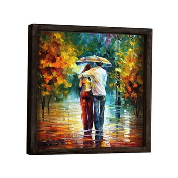 Tablou Fall Walk, 34 x 34 cm poza bonami.ro