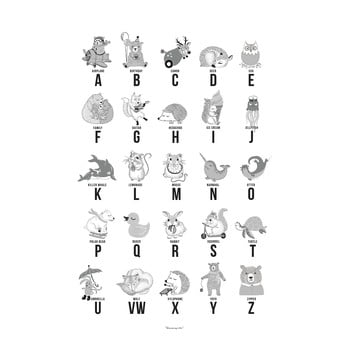Poster abecedar Bloomingville ABC bonami.ro