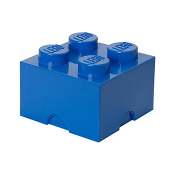 Cutie depozitare LEGO, albastru bonami.ro