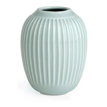 Vază din gresie Kähler Design Hammershoi, verde mentă, înălțime 10 cm bonami.ro