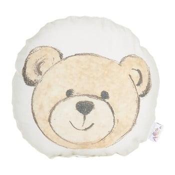 Pernă din amestec de bumbac pentru copii Mike&Co.NEWYORK Pillow Toy Bearie, 23 x 23 cm bonami.ro