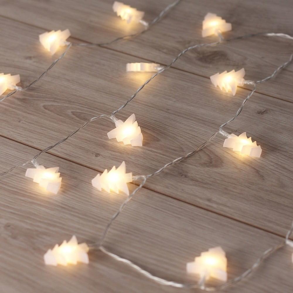 Ghirlanda luminoasă cu LED în formă de brazi DecoKing Tree, lungime 2,4 m, 20 beculețe